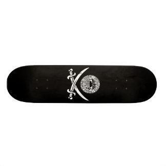 Federal Reserve Pirate Logo Skate Boards
