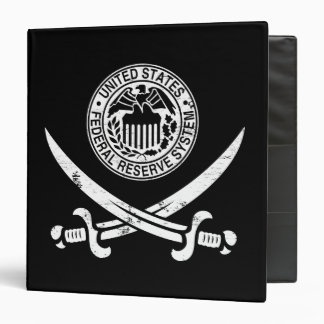Federal Reserve piratea el logotipo Carpeta 1 1/2""