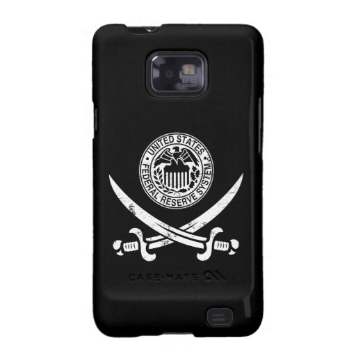 Federal Reserve piratea el logotipo Galaxy S2 Fundas