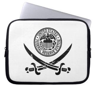 Federal Reserve piratea el logotipo Funda Computadora