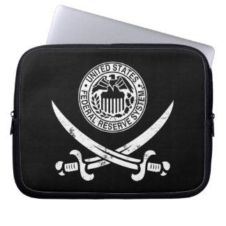 Federal Reserve piratea el logotipo Funda Portátil