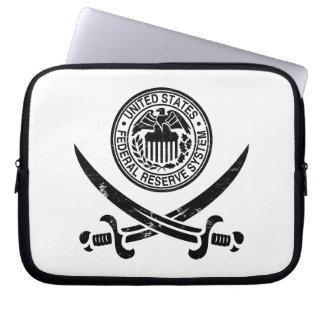 Federal Reserve piratea el logotipo Mangas Portátiles