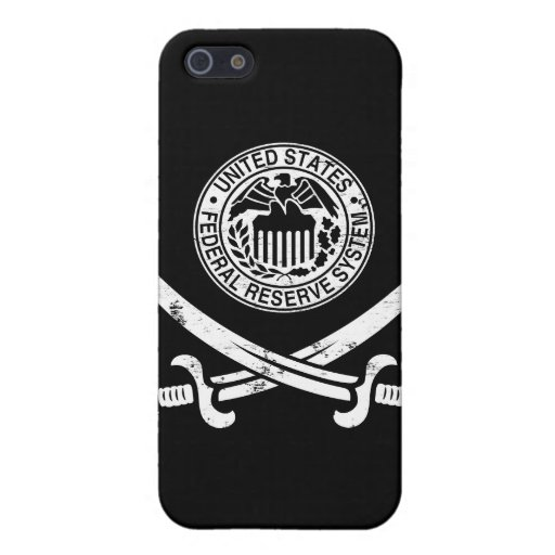 Federal Reserve piratea el logotipo iPhone 5 Carcasa