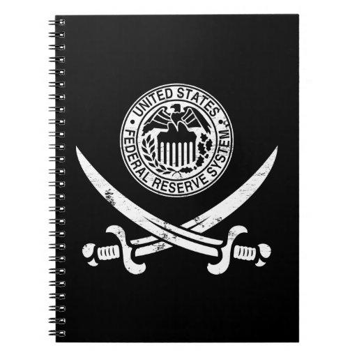 Federal Reserve piratea el logotipo Libreta