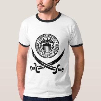 Federal Reserve piratea el logotipo Polera