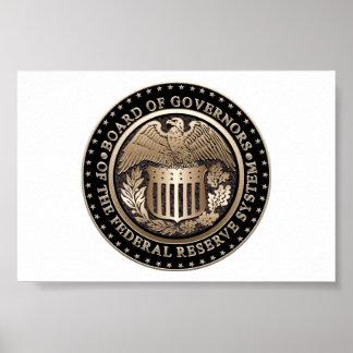 Federal Reserve Póster