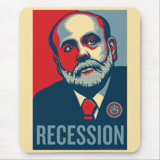 Federal Reserve preside a Ben Bernanke Mousepad