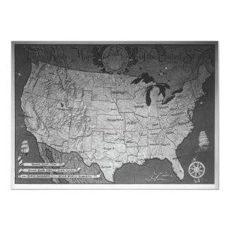 Federal Reserve que construye el mapa Comunicados Personales