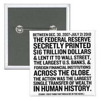Federal Reserve revisa Pin Cuadrado