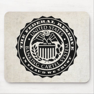 Federal Reserve Seal Mousepad