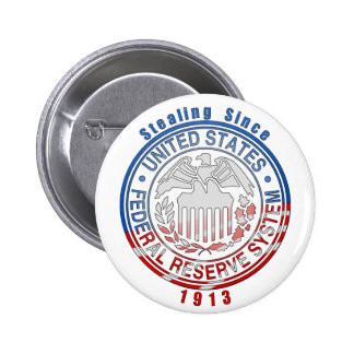 Federal Reserve System Pinback Button