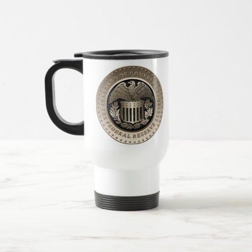 Federal Reserve Taza De Café