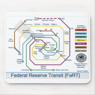 Federal Reserve Transit- (FaRT) Mouse Pad