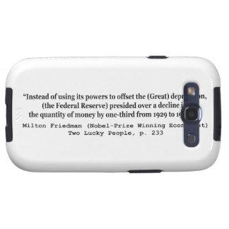 Federal Reserve y la Gran Depresión Galaxy S3 Carcasa