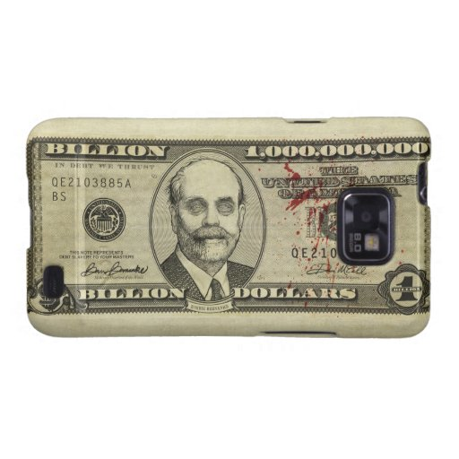 Federal Reserve Zombie Bank Note Case Samsung Galaxy Cover