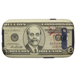 Federal Reserve Zombie Bank Note Case Samsung Galaxy SIII Cases