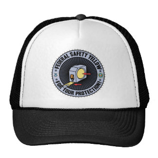 Federal Safety Yellow Trucker Hat