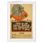 Federal Schools Free 1938 WPA Card