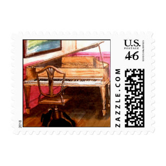 Federal Style Piano Postage