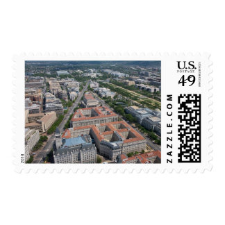 Federal Triangle Washington D.C. Postage Stamp