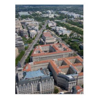 Federal Triangle Washington D.C. Postcard