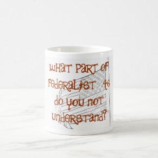 Federalist #46 coffee mug