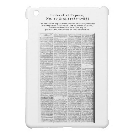 an analysis of the federalists no 51 In federalist no 51  corroborated in 1964 by a computer analysis of the text: alexander hamilton (51 articles: no 1  the federalist papers.