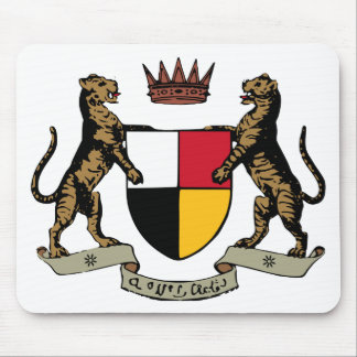 Federated Malay States Coat of Arms (1895-1946) Mouse Pad