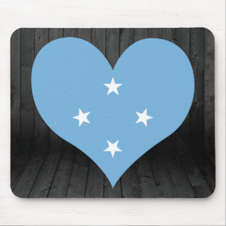Federated+States+of+Micronesia flag colored Mouse Pad