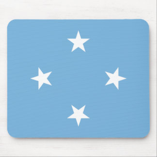 Federated States of Micronesia Flag FM Mouse Pad