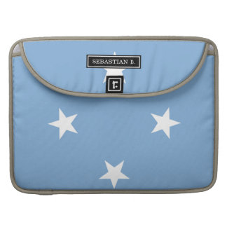 Federated StATES of Micronesia Flag MacBook Pro Sleeve