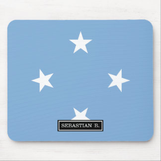 Federated StATES of Micronesia Flag Mouse Pad