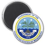 Federated States of Micronesia FM Imán Redondo 5 Cm