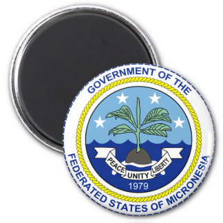 Federated States of Micronesia FM Magnet