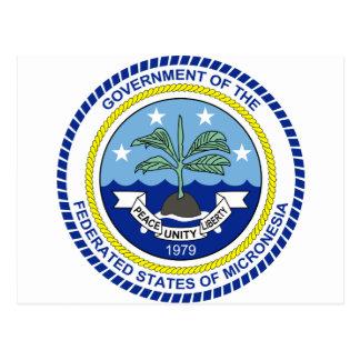 Federated States of Micronesia FM Tarjeta Postal