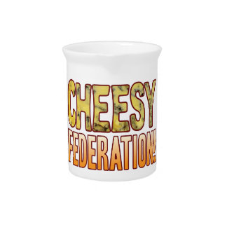 Federation Blue Cheesy Pitcher