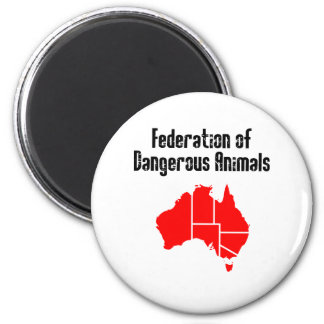 Federation of Dangerous Animals Magnet