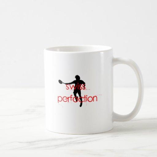 Federer Tshirt Swiss Perfection Coffee Mugs