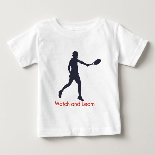 Federer Watch and Learn Baby T-Shirt