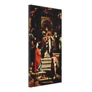 Federico Barocci - Presentation of the Virgin Gallery Wrap Canvas
