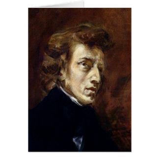 Federico Chopin 1838 Tarjeta De Felicitación