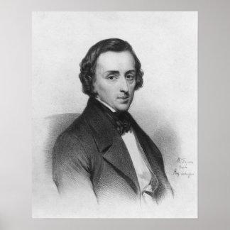 Federico Chopin, después de Ary Scheffer Póster