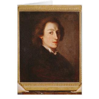 Federico Chopin Tarjeta De Felicitación