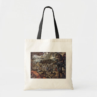 Federico Ii Gonzaga Conquers Parma. By Tintoretto Tote Bag