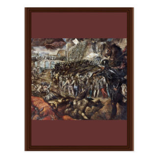 Federico Ii Gonzaga Conquers Parma. By Tintoretto Post Cards