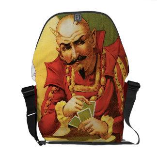 Federico la gran magia del vintage del mago bolsas de mensajería
