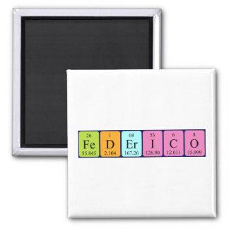 Federico periodic table name magnet