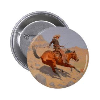 Federico Remington - el vaquero Pins