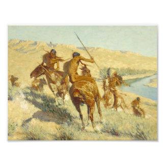 Federico Remington - episodio del arma del búfalo Cojinete