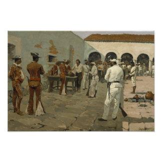 Federico Remington - la expedición de Mier Cojinete